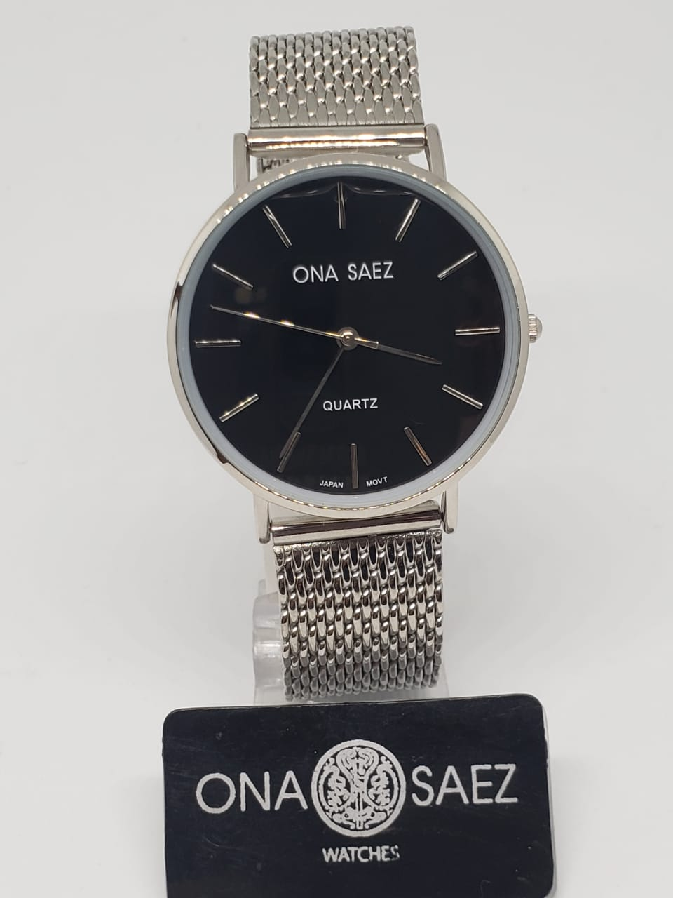 33663825fcd0 Reloj Ona Saez Unisex malla tejida – Joyas Lan