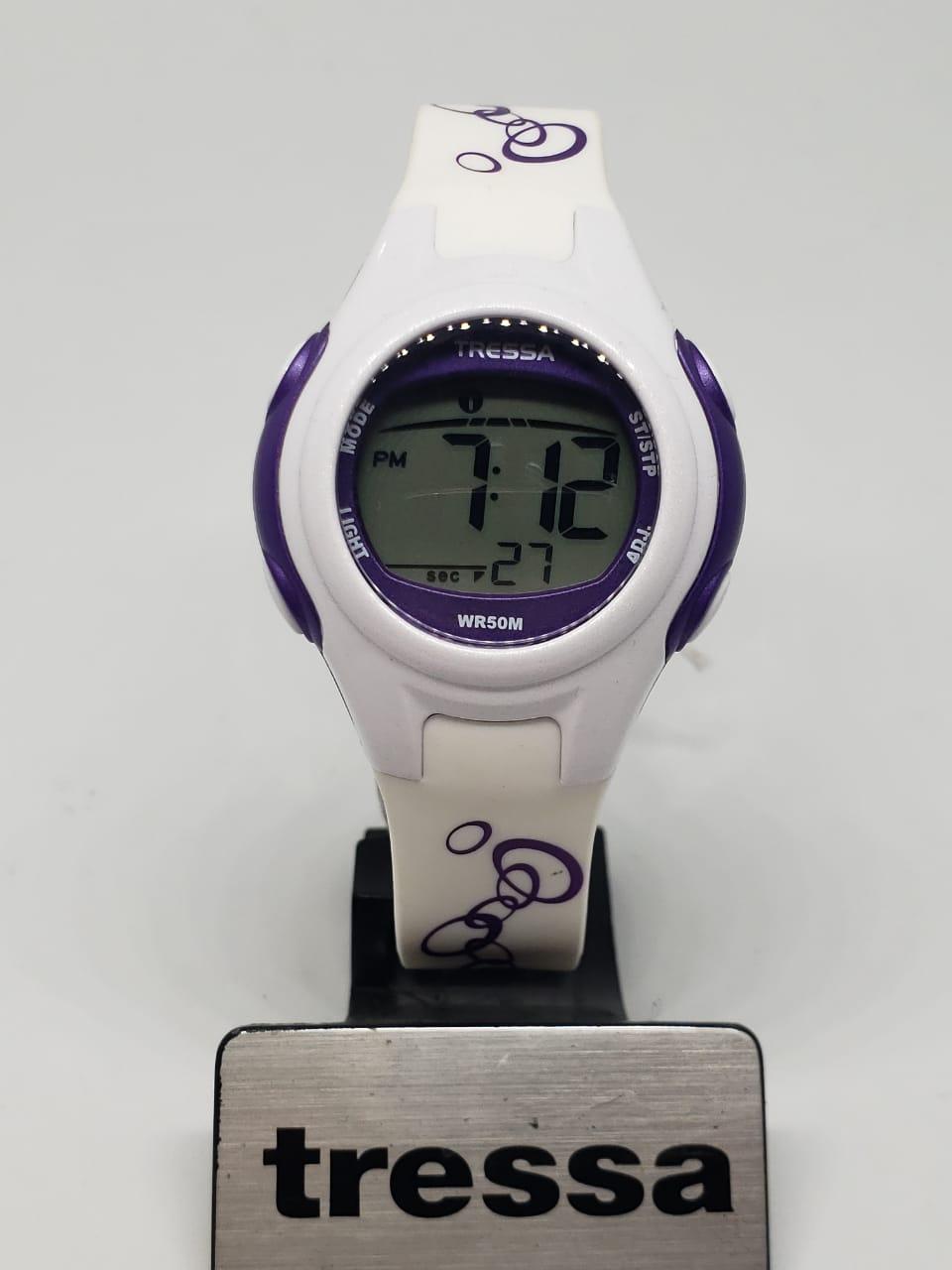 b81f97220b3d Reloj Tressa Digital de Dama Sumergible – Joyas Lan
