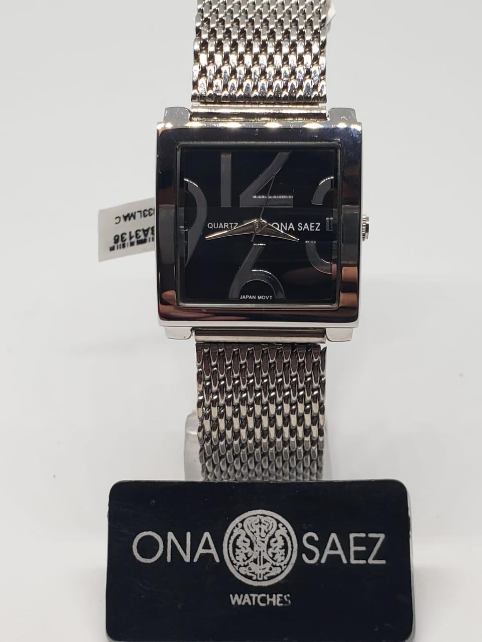 8e21740e949b Reloj Ona Saez dama malla tejida – Joyas Lan